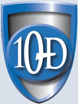 10-D Logo